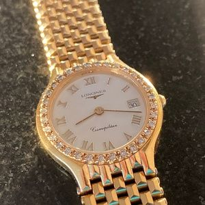 Longines Cosmopolitan Watch -Diamond Bezel